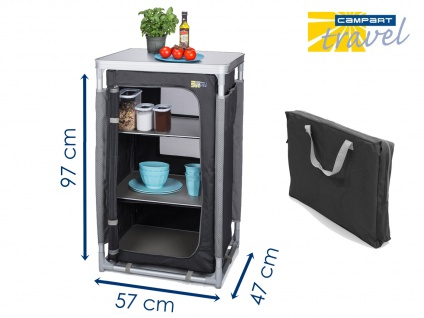 OUTDOOR Campingschrank faltbar mobil Camping Küchenschrank Küchenblock Küchenbox