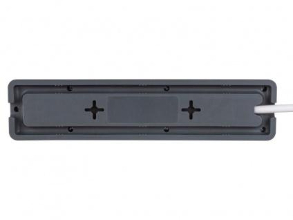 Steckdosenleiste 3 fach Mehrfachstecker mit Kabel für Steckdosenerweiterung - Vorschau 4