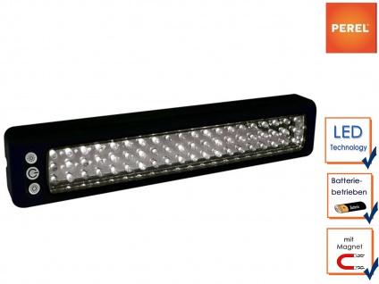 LED Arbeitsleuchte, 60 LEDs, Hand Taschen Stab Werkstatt Camping Leuchte Lampe