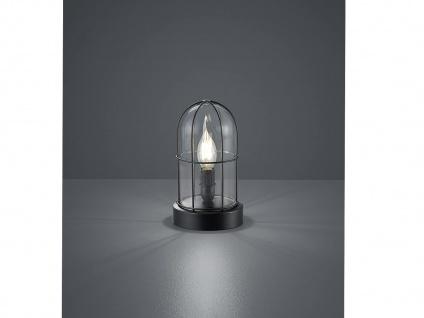 LED Tischlampe Industrielook für Fensterbank Vintage Design Nachttischleuchten