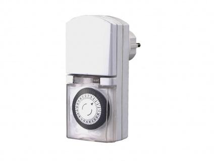 Kompakte Tageszeitschaltuhr Mini, Feuchtraum geeignet, IP44, GAO