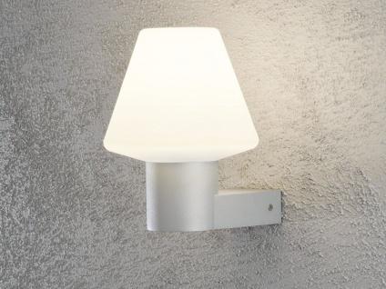 2 Stk Konstsmide Außenwandleuchten BARLETTA grau / opal, Beleuchtung Haus Wand - Vorschau 3