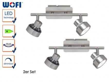 2er Set LED Deckenleuchte LOCAL, dimmbar, Deckenlampe Deckenbalken Spotleiste - Vorschau 1