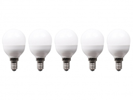 5er-Set LED Leuchtmittel 6 W warmweiß, E14, 470 Lumen / 3000 Kelvin - Vorschau 2