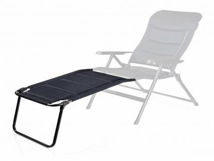 Bequemer Campingstuhl extra breit klappbar mit Beinablage - kleines Packmaß - Vorschau 3