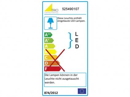 Elegante dimmbare LED Nachttischlampe TOUCH Nickel matt & Lampenschirm in weiss - Vorschau 4