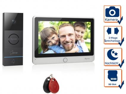 Video Türsprechanlage für Einfamilienhaus - schlüsselloses Kamera Zugangssystem
