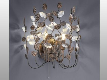 Florentiner Wandleuchte ausgefallene Wohnzimmerlampe Esszimmer mit Zugschalter