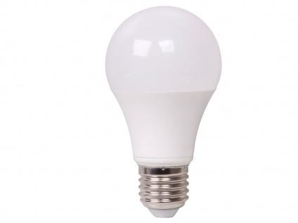 5er Set LED Leuchtmittel 9 Watt, 806 Lumen, 2700 Kelvin, E27-Sockel, dimmbar - Vorschau 3