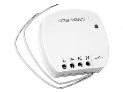 Mini Funk-Einbauschalter Umrüsten von Lichtschalter in Funkschalter bis 400W