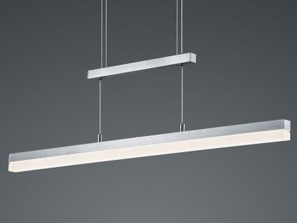 LED Pendelleuchte, Hängelampe höhenverstellbar, dimmbar, Alu / Acrylglas, Trio - Vorschau 5