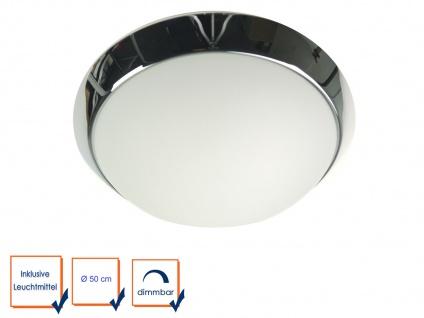 LED Decken Lampe OPALGLAS matt Flurbeleuchtung Dielenlampe Ø50cm LED Küchenlampe