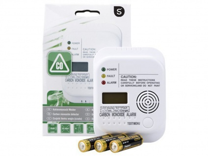 Brandschutz-Set3 (3 x TÜV Rauchmelder, 1 x Kohlenmonoxid-Melder) Notfall-Set - Vorschau 4