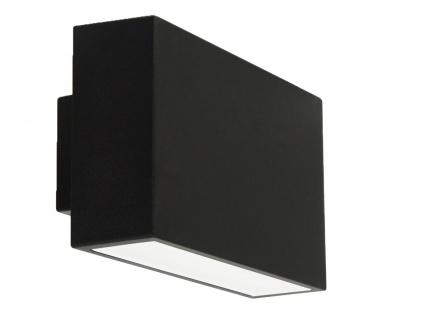 LED Außenwandleuchte Wandleuchte Außenleuchte, IP44, up & down light