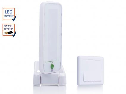 Drehbare Touch LED-Leuchte mit zusätzl. Schalter, ideal als Nachtlicht Notlicht