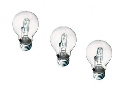 3-ER PACK Halogen Leuchtmittel extern dimmbarmit E27-Sockel 28 Watt & 370 Lumen