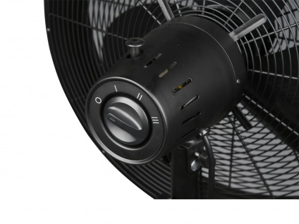 SET Standventilator Höhe 90-120, 5cm Ø45cm + Tischventilator Höhe 57cm Ø45cm - Vorschau 4