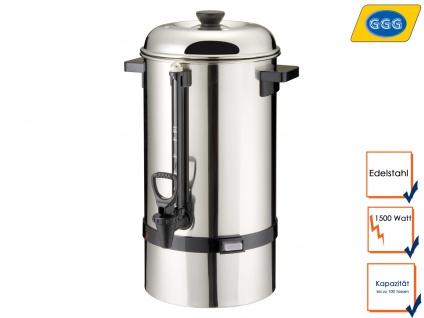 Gastro Kaffeebereiter, 15 Liter, 1500W, Rundfilter, Kaffeemaschine Kaffeeautomat