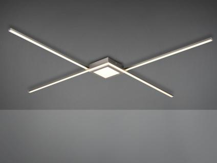LED Flurbeleuchtung - geometrische Deckenlampe für den langen Flur & große Räume
