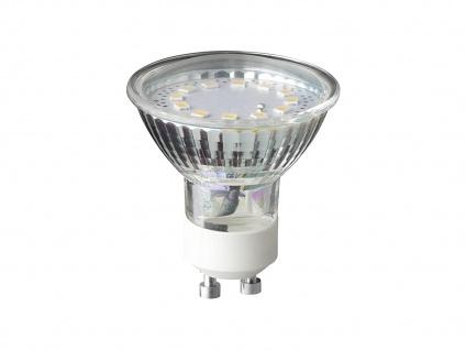 SDM LED Leuchtmittel GU10, 3Watt, 250lm, 3000K nicht dimmbar A+ Ø5cm Höhe 5, 5cm