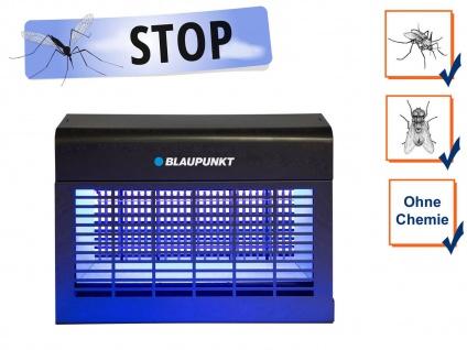 LED Insektenvernichter elektrisch mit UV Licht, Stechmücken bekämpfen bis 150 m²