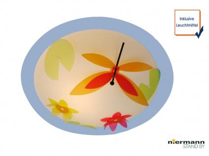 LED Deckenleuchte für Kinder LIBELLE Schirm bruchsicher Ø45cm LED Deckenlampe
