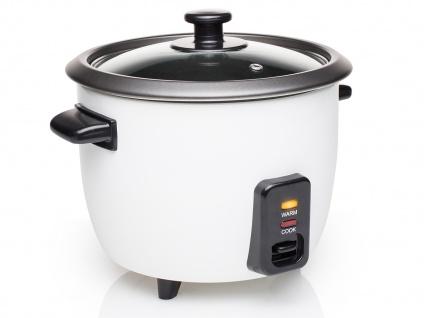 Elektrischer Reiskocher Reisgarer Dampfgarer 0, 6 Liter 300Watt Warmhaltefunktion - Vorschau 2