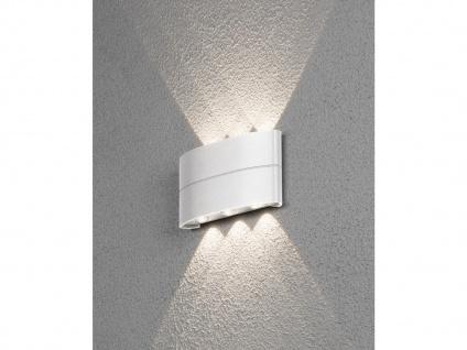 Schöne LED Lampe für Hauswand Up and Down - Terrassenlampen Gartenleuchten IP54