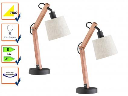 Schreibtischlampe, Schreibtischleuchte, Tischleuchten, Tischleuchte, 2er Set
