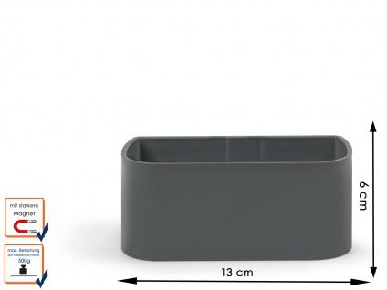 Wandaufbewahrung, Set aus Magnettafel und 3 verschiedenen Töpfen, KalaMitica - Vorschau 4
