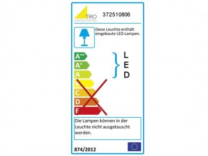 Höhenverstellbares 4 Spot Balkenpendel mit Switch Dimmer, Up & Downlight, Silber - Vorschau 3