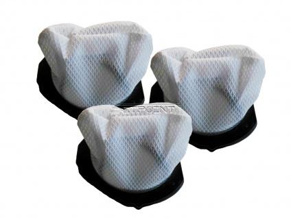 3er-Set Ersatz Staubfilter für Handstaubsauger DO211S Staubsaugerbeutel Filter