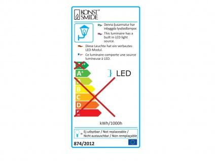 Edle Wandleuchte MATERA, anthrazit, 4 Watt HP-LEDs, 350 Lumen, 3000K - Vorschau 3