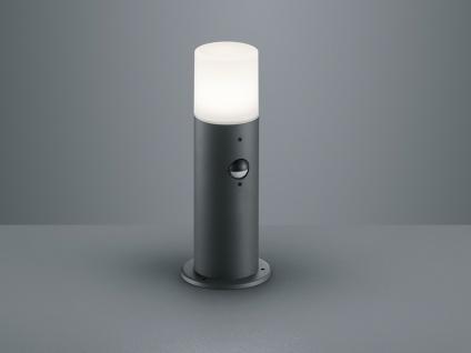 LED Außenwegeleuchten Anthrazit mit Bewegungsmelder Sockelleuchten Gartenlampen