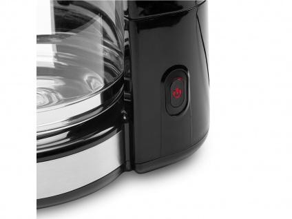 Praktische Kaffeemaschine für 10-12 Tassen inklusive 1, 25 Liter Glaskanne - Vorschau 5