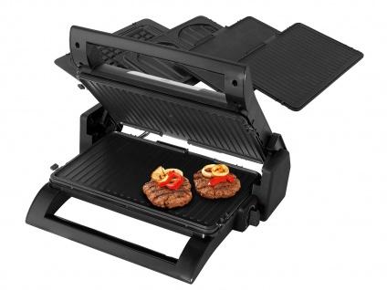 Kontaktgrill, Waffeleisen & Sandwichmaker 4in1 auswechselbare Platten, 31, 5x21cm