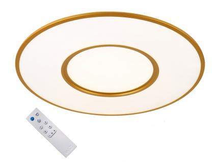 WIZ Runde LED Deckenleuchte in Gold mit Alexa oder App steuern - fürs Esszimmer - Vorschau 2