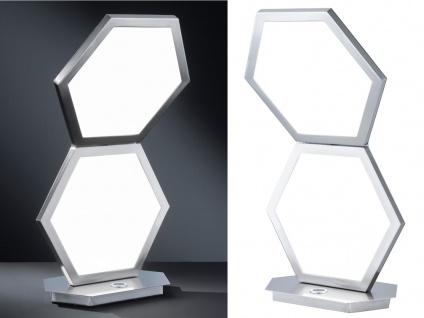 DESIGN LED Nachttischlampen SET 3 Stufen Dimmer Nickel matt - Schlafzimmerlampen