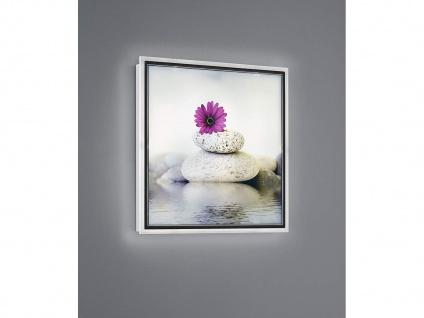 LED Wandbild beleuchtetes Bild Steine mit Licht Hintergrundbeleuchtung Wanddeko