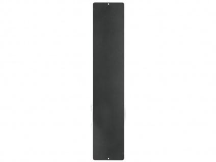 Wandaufbewahrung Wanddeko Memoboard Magnettafel Metall 14 x 70 cm, KalaMitica - Vorschau 2