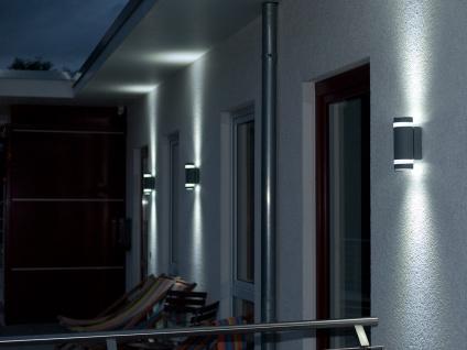 Außenwandleuchte Aluguss IP44 Höhe 23, 5 cm Fassadenbeleuchtung Wandleuchte - Vorschau 4