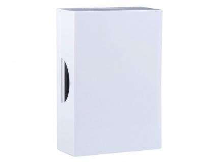 Drahtgebundene Türklingel Türgong weiß - Hausklingel 2 Draht mit klassischem Ton
