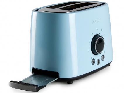 Frühstücksset im Retro Design Blau Filterkaffeemaschine Wasserkocher und Toaster - Vorschau 3