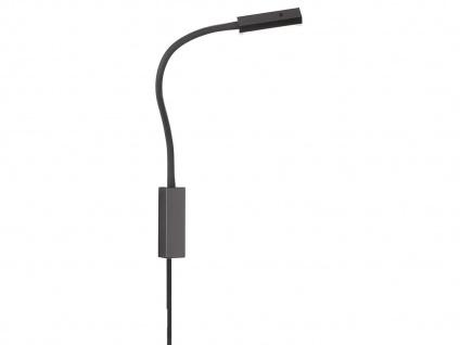 LED Leselampe Schwarz dimmbar Bett Lampe Leuchte fürs Kopfteil Couch Wandmontage - Vorschau 2