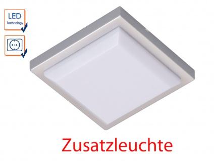 LED-Leuchte quadratisch extra flach ohne Treiber ideal für Schränke Möbel