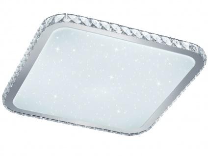 Eckige LED Deckenleuchte 60W Fernbedienung Dimmer Farbwechsel & Starlight Effekt