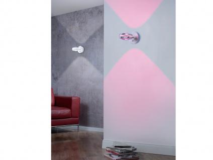 WIZ LED Wandleuchte in Silber matt mit Alexa oder App steuern - fürs Wohnzimmer - Vorschau 5