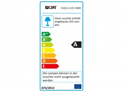 LED Pendelleuchte dimmbar, Kronleuchter modern Ø 70cm, Wofi-Leuchten - Vorschau 4