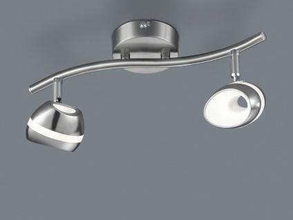 2er Set LED Deckenstrahler 2flammig Spots schwenkbar, Retro Deckenlampe Strahler - Vorschau 5