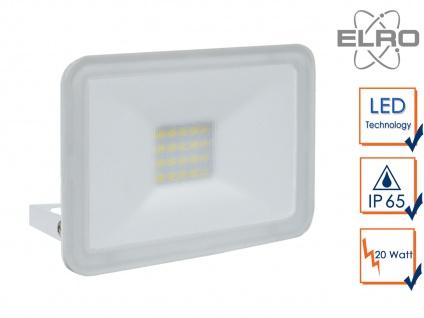 Strahler weiß Baustrahler 20W LED 5000K Scheinwerfer Arbeitsleuchte Flutlicht